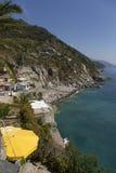 Baía Ligurian Fotografia de Stock Royalty Free