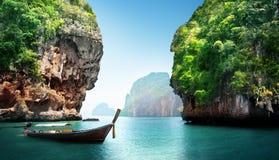 Baía na ilha da phi da phi Foto de Stock
