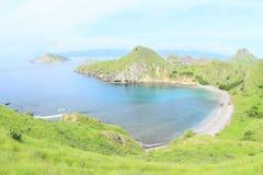 Baía na ilha de Padar fotos de stock royalty free