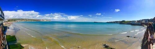 A baía no verão fotografia de stock