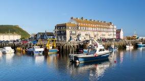 Baía ocidental Dorset Inglaterra Fotografia de Stock
