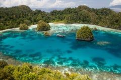 Baía pacífica tropical Imagem de Stock