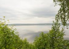 Baía protetora, o Golfo da Finlândia, Vyborg, Rússia Fotografia de Stock Royalty Free