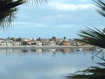 Baía San Diego da missão foto de stock royalty free