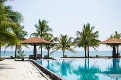 Baía Thua Thien Provence Hue Vietnam de Lang co foto de stock