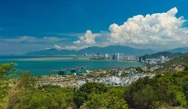 Baía Vietname de Nha Trang Fotografia de Stock Royalty Free