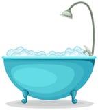 Bañera stock de ilustración