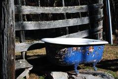 Bañera al aire libre Foto de archivo libre de regalías