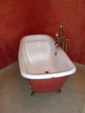 Bañera blanca Imagen de archivo