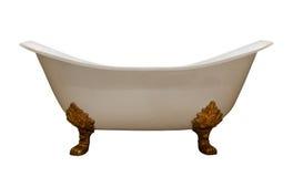 Bañera de lujo de la vendimia Imagen de archivo libre de regalías