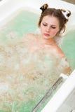 Bañera en un salón de belleza Imagenes de archivo