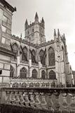 Baño Abbey Church en la ciudad del baño Inglaterra Imágenes de archivo libres de regalías