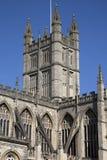 Baño Abbey Tower, Inglaterra Fotografía de archivo libre de regalías