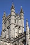 Baño Abbey Tower, Inglaterra Foto de archivo