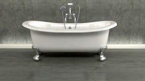 Baño clásico de la tapa de rodillo libre illustration