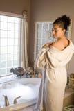 Baño de burbuja Foto de archivo libre de regalías