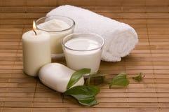 Baño de la leche Imagen de archivo