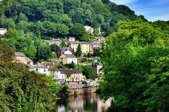 Baño de Matlock en Derbyshire Imágenes de archivo libres de regalías