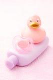 Baño del bebé Foto de archivo