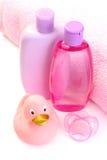 Baño del bebé Imagen de archivo libre de regalías