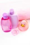 Baño del bebé Imagenes de archivo
