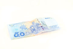 Baño del billete de banco 50 Fotografía de archivo