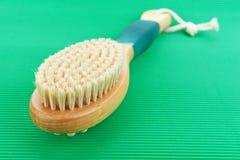 Baño del cepillo Fotografía de archivo