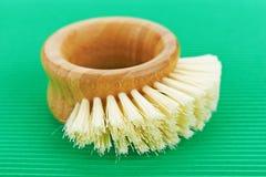 Baño del cepillo Fotos de archivo libres de regalías