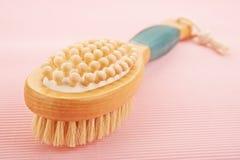 Baño del cepillo Imagen de archivo libre de regalías