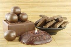 Baño del chocolate foto de archivo libre de regalías