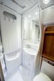 Baño del hogar de motor Fotos de archivo libres de regalías