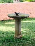 Baño del pájaro Imagenes de archivo