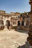 Ba?o del Queens, ruinas antiguas en Hampi, la India fotografía de archivo