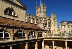 Baño en Inglaterra Imágenes de archivo libres de regalías