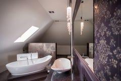 Baño libre cómodo fotografía de archivo