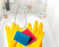 Baño ordenado Imagen de archivo libre de regalías