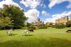 Baño Reino Unido de los jardines del desfile Fotos de archivo libres de regalías