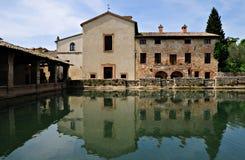 Baño romano - Bagni Vignoli Imágenes de archivo libres de regalías
