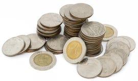 Baño tailandés de la moneda Imágenes de archivo libres de regalías