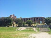 Baño termal Roma de Caracalla Imagen de archivo libre de regalías