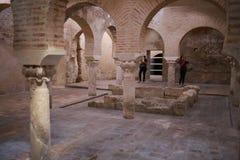 Baños árabes de Jaén Andalucía España imagen de archivo libre de regalías
