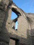 Baños de Caracalla Foto de archivo libre de regalías