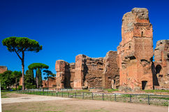 Baños de Caracalla, Roma, Italia Imágenes de archivo libres de regalías