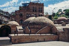 Baños en Tbilisi Foto de archivo libre de regalías