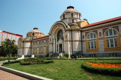 Baños minerales públicos, Sofía, Bulgaria Imagen de archivo libre de regalías