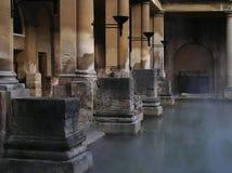 Baños romanos Imágenes de archivo libres de regalías