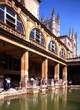 Baños romanos, baño Foto de archivo