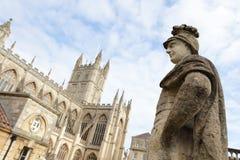 Baños romanos en Inglaterra Fotografía de archivo