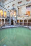 Baños romanos y resorte caliente adentro Imagenes de archivo