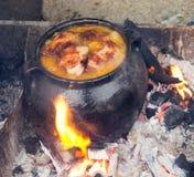 Bałkański tradycyjny gruby jedzenie Zdjęcie Royalty Free